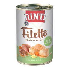 Rinti Filetto - csirke és kacsa szószban, 420g