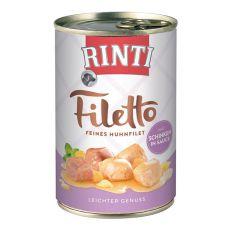 Rinti Filetto - csirke sonkával szószban, 420g