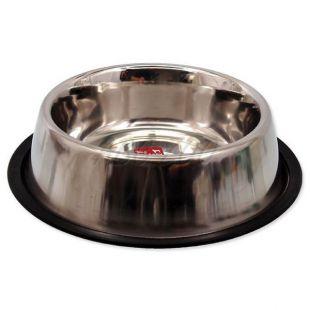Dog Fantasy rozsdamentes tál kutyáknak - csúszásgátlóval, 0,94l
