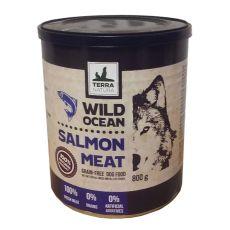 Terra Natura Wild Ocean Salmon Meat konzerv 800g
