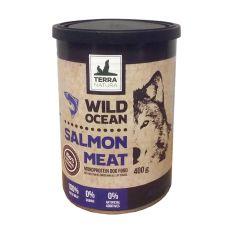 Terra Natura Wild Ocean Salmon Meat konzerv 400g