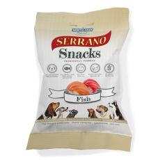 MEDITERRANEAN NATURAL jutalomfalatok kutyáknak lazaccal és tonhallal - 100 g