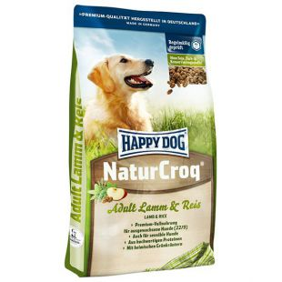 Happy Dog NaturCroq LAMM a REIS 4kg