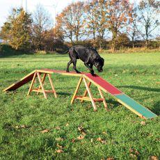 Agility akadály kutyáknak, gerenda Dog Activity 456 x 64 x 30cm