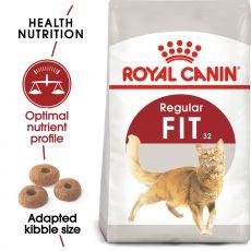 Royal Canin FIT 32 - táplálék felnőtt macskának 15 kg