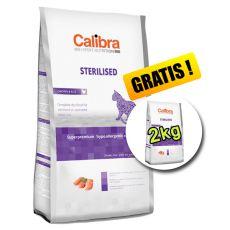 CALIBRA Cat EN Sterilised Chicken 7kg + 2kg INGYEN
