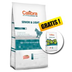 CALIBRA Cat HA Senior & Light Turkey 7kg + 2kg INGYEN