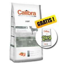CALIBRA Dog EN Light 12kg + 2kg INGYEN