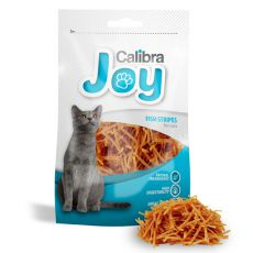 Jutalomfalatok - Calibra Cat Joy Fish Stripes 70g