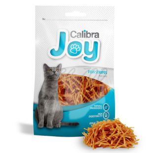 Jutalomfalatok - Calibra Cat Joy Fish Stripes 70g
