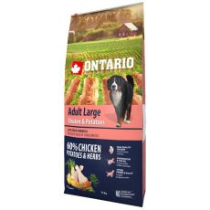 ONTARIO Adult Large - chicken & potatoes 12kg
