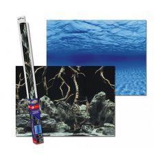 Akváriumi háttér ROOTS/WATERS L - 100 x 50cm