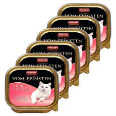 Animonda Vom Feinsten Adult Cats - pulyka szívvel 6 x 100g