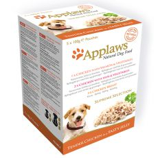 APPLAWS dog SUPREME SELECTION alutasak 5x100g