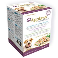 APPLAWS dog FINEST SELECTION alutasak 5x100g