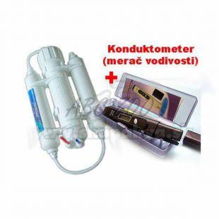 Fordított ozmózis 190 l + Konduktométer ADWA