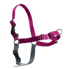 EasyWalk Harness húzásgátló hám pórázzal  - L, rózsaszín