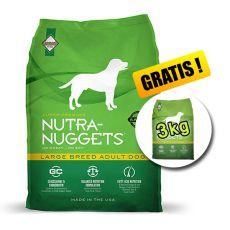 NUTRA NUGGETS Large Breed Adult 15kg + 3kg INGYEN