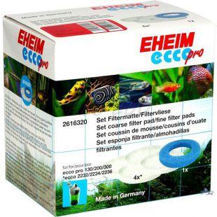 EHEIM szűrőanyag szett Ecco Pro szűrőbe