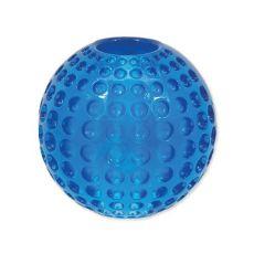 DOG FANTASY játék Strong gumilabda - kék 6,3 cm