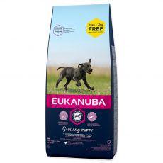 EUKANUBA PUPPY & JUNIOR Large Breed 15kg + 3kg GRÁTISZ