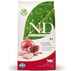 Farmina N&D cat GF ADULT Chicken & Pomegranate, 5kg