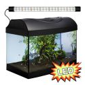 Akvárium STARTUP 40 LED Expert 6W - EGYENES - FEKETE