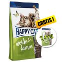 Happy Cat Supreme Adult Weide-Lamm 4kg + 1,4kg INGYEN