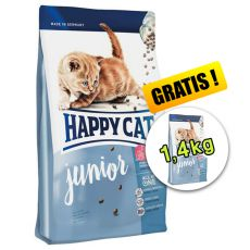 Happy Cat Supreme Junior 4kg + 1,4kg INGYEN