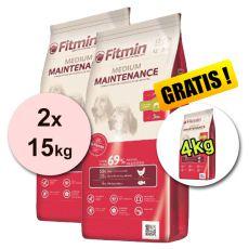 Fitmin MEDIUM Maintenance 2x15kg + 4kg - INGYENES SZÁLLÍTÁS