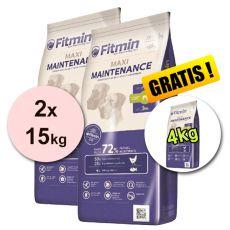 Fitmin MAXI Maintenance 2x15kg + 4kg - INGYENES SZÁLLÍTÁS