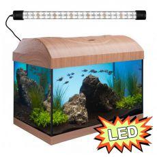 Akvárium STARTUP 40 LED Expert 6W - EGYENES - BÜKK