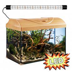 Akvárium STARTUP 50 LED EXPERT 10W - EGYENES - BÜKK