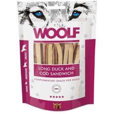 WOOLF Long Duck and Cod Sandwich 100g
