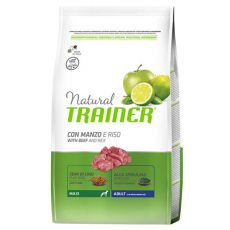 Trainer Natural Adult Maxi, marhahús és rizs,  12kg