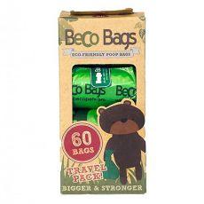 Beco Bags környezetbarát kutyapiszok-zacskók, 60 db