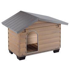 CANADA 4 kutyaház, fából – 110 x 69,5 x 78 cm