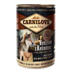 BRIT Carnilove Wild Meat Venison & Reindeer 400g