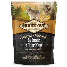 Brit CARNILOVE Salmon & Turkey Large Breed Adult 1,5 kg