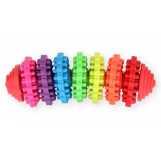 TPR Fogtisztító játék kutyáknak gumisörtékkel, 13 cm