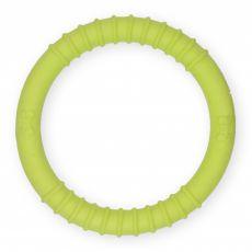 TPR Bordázott gumikarika – sárga, 9,5 cm