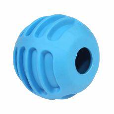 TPR Gumilabda kutyák számára – kék, 6 cm