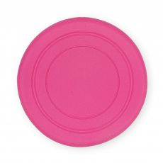 TPR Gumi frizbi kutyáknak -  rózsaszín, 18cm