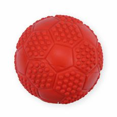 Gumijáték kutyáknak - sípoló labda, 7cm