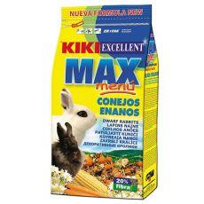 KIKI EXCELLENT MAX MENU - táp törpenyúlnak 1kg