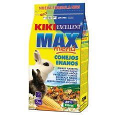 KIKI EXCELLENT MAX MENU - táp törpenyúlnak 2kg