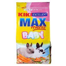 KIKI EXCELLENT MAX MENU BABY - nyúltáp fiatal nyulaknak, 1 kg