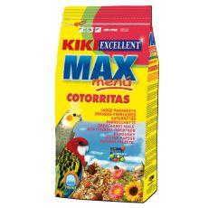 MAX MENU Cotorritas - eleség nimfapapagájoknak és törpepapagájoknak, 500 g