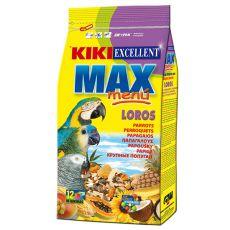 KIKI MAX MENU - eleség nagy testű papagájfajoknak, 800g