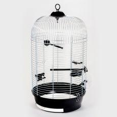 JULIA III króm - kalitka papagájnak - 34 x 34 x 65 cm